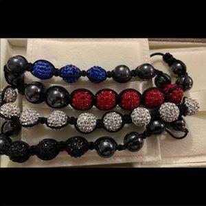 Authentic Swarovski Bead Bracelet Set